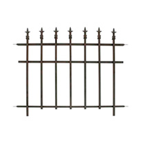 Penacea Classic Finial Fence - Pack of 2