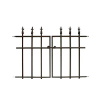 Panacea Classic Finial Fence - Gate