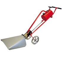 Weed Burner Flame Gun, Hood & Trolley Attachment, Trolley