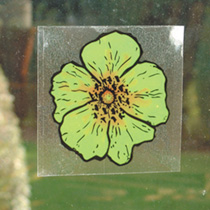 Fly Trap Window Stickers