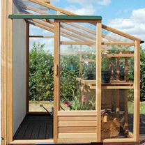 Lean-To Growhouse