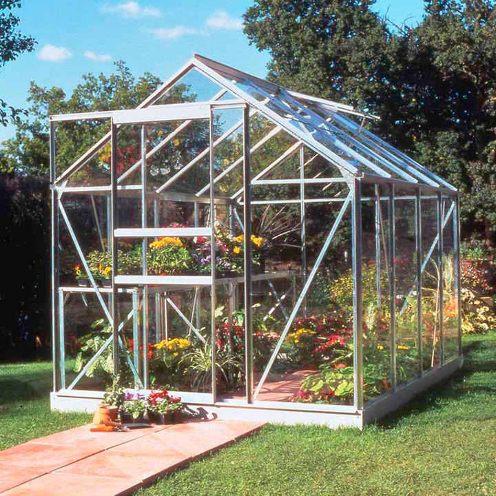 Aluminium Popular Greenhouse and Base