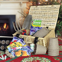 Garden Flowers Hamper Gift Set