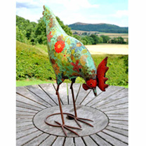 Decorative Garden Hens