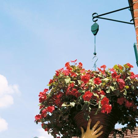Hi-Lo Hanging Basket Supports