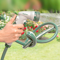 RHS Everflow Kink-Free Garden Hose & Spray