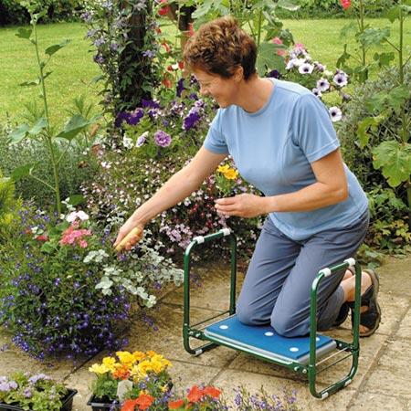 Garden Folding Kneeler Seat Dobies