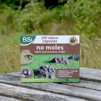 'No Moles' Mole Repellent Capsules