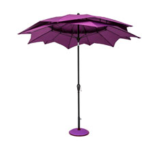 Parasol Lotus - Purple