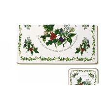 Holly & Ivy Placemats & FREE Coaster