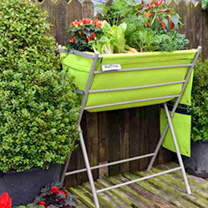 The Pop Up Garden Planter + 2 FREE Wall Planters