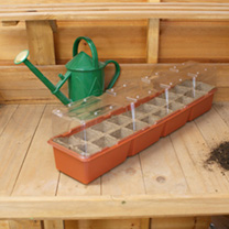Three Jiffy 20 Strip Windowsill Propagator