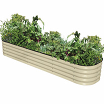 4-in-1 Modular Metal Raised Bed - Paperbark