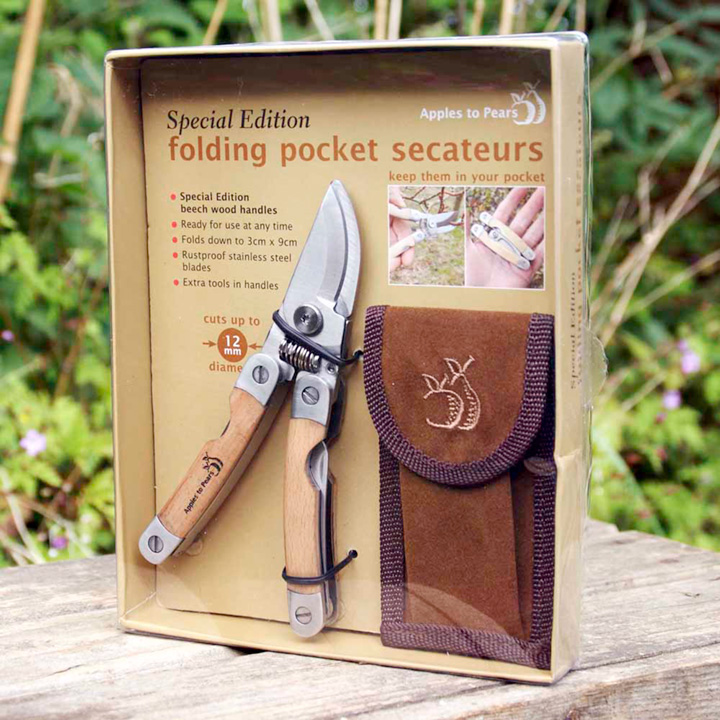 Folding Pocket Secateurs