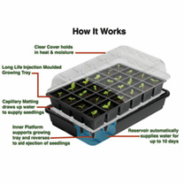 Self-watering Seed Success Kits