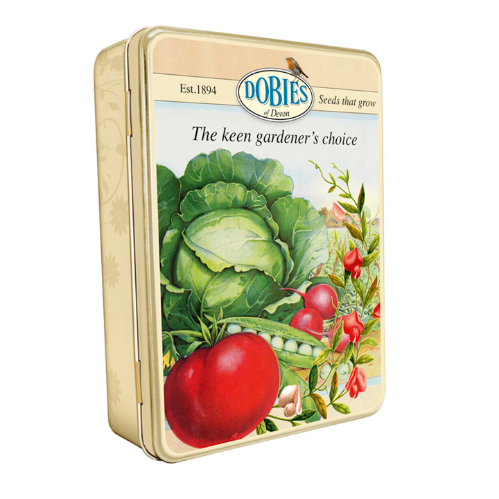 Dobies Collectable Seed Tin