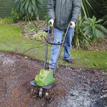 Electric tiller dobies for Electric hand garden shears