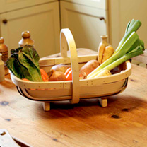 Traditional Handmade South Down Trug