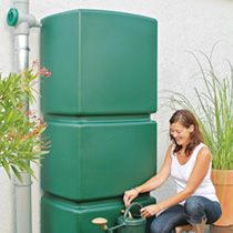 Rainwater storage tank - click to view