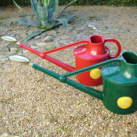 Haws Green Watering Can