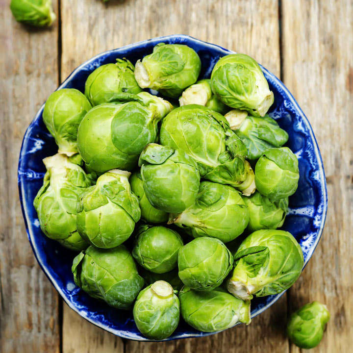 Brussels Sprout Seeds - Jade Cross F1