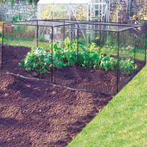 DIY Crop Cage 1.5m (x4) & 5 Way Connector (x2)
