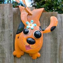 Animal Fence Hanger - Dog