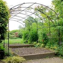 Monet Pergola 1.2m with Lattice