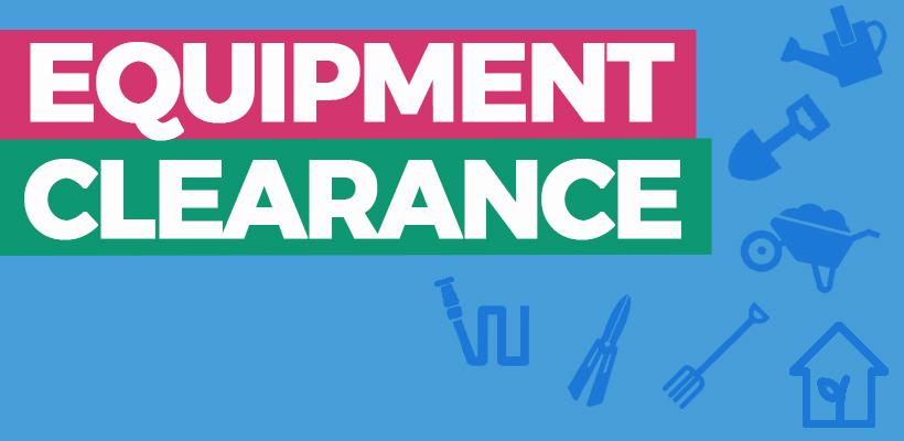 Equipment Clearance