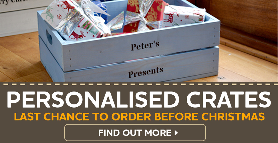 Personalised Crates