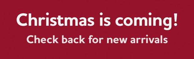christmas items coming soon