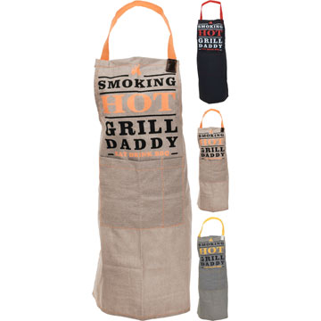 BBQ Apron with Free Kitchen Glove