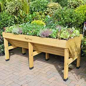 VegTrug With Frame, 3 Covers & Free Seed