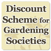 Discount scheme for Gardening Societies