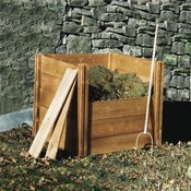 Wooden Compost Bins