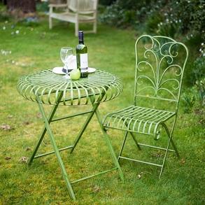 Verdigris Table & Chairs
