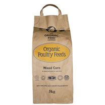 Organic Feed Mixed Corn - 5kg