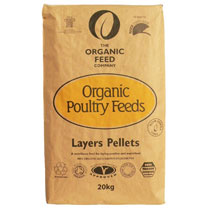 Organic Feed Layers Pellets - 20kg