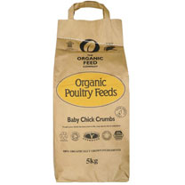 Organic Feed Baby Chick Crumb - 5kg