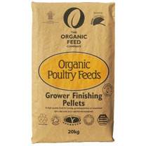 Organic Feed Growers Pellets - 20kg