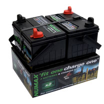 Image of 12v Twin Batteries