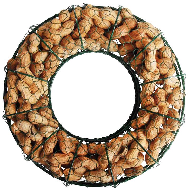 Peanut Wire Wreath