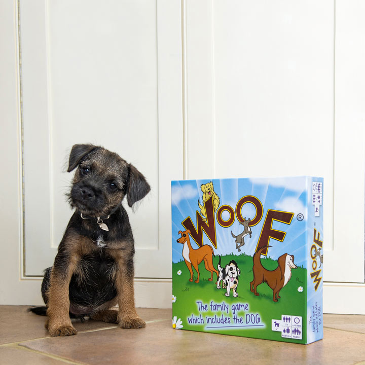 Woof Board Game - The Dog Plays Too!