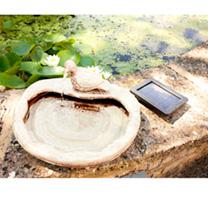 Ceramic Dove Water Feature