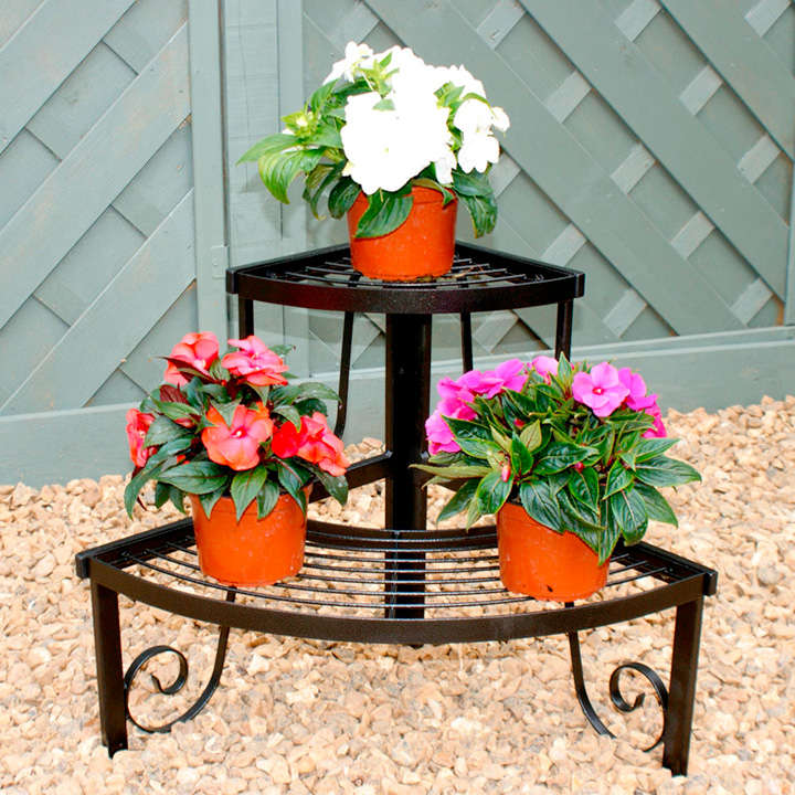 Two Tier Corner Plant Stand All Christmas Gifts