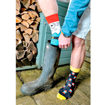 Gardening Oddsocks - Ladies