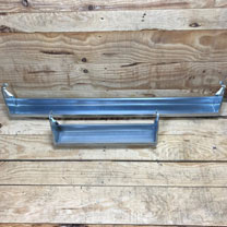 Hook Over Galvanised Trough - 90cm
