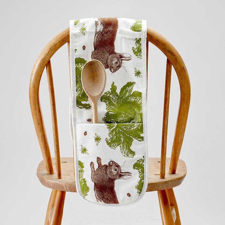 Rabbit & Cabbage Oven Glove