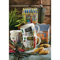 Lady Gardener Mug in Giftbox