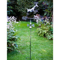 3D Weathervane with Garden Stake - Deer